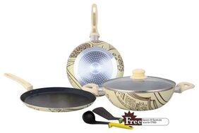 Wonderchef Picasso set Induction based with Free spoon & spatula worth Rs 750/-