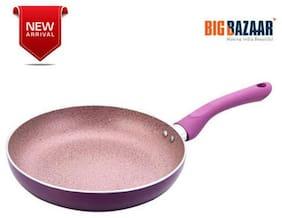 Wonderchef Royal Velvet Aluminium Fry Pan;24cm;Purple