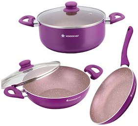 Wonderchef Royal Mystique Cookware Combos Set