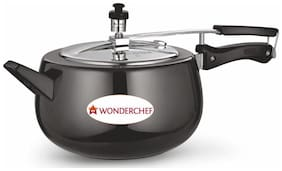 Wonderchef Raven Pressure Cooker Hard Anodized Inner SS Lid with Induction Base 5L