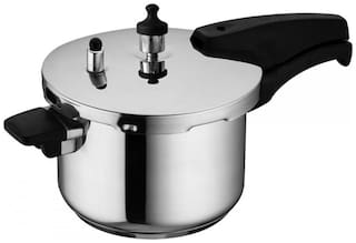 Wonderchef Stainless Steel 3 L Outer Lid Pressure Cooker - Set of 1 ,