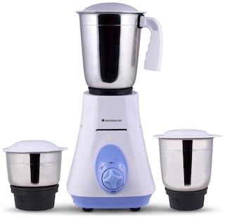 Wonderchef 63153026 500 W Mixer Grinder ( Blue , 3 Jars )