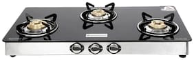 Wonderchef Zest Glass Cooktop 3 burner