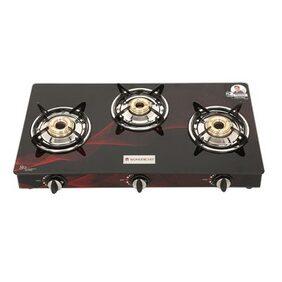 Wonderchef  Zing 3 burner glass cooktop