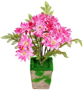 Wonderland Artificial Flower Multiple Flowers on Single Pot