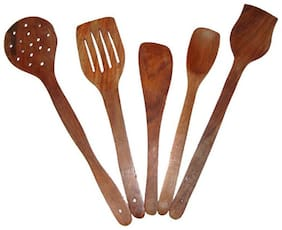 Wooden skimmers set of 5pcs