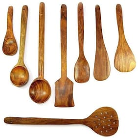 Wooden spoon set of 8