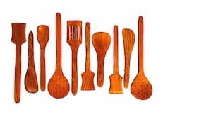 Worthway Wooden cooking Spoon- Set of 10