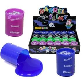 Worthy Shoppee Barrel O Slime Birthday Return Gift For Kids (Set of 24)