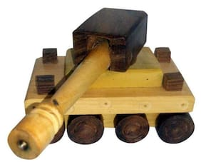Worthy Shoppee Wooden Toy Tank For kids