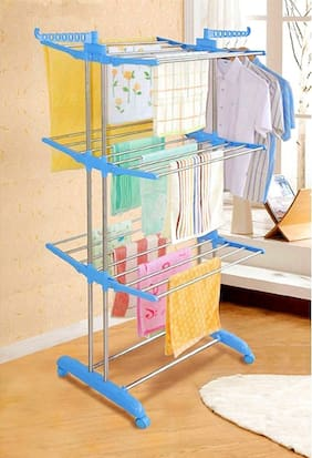 Wudore Carbon Steel Plastic Cloth Dryer 1 Stand