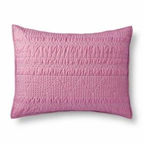 "Xhilaration Mauve Pink Soft Quilted Sham, Standard 20""x26"""
