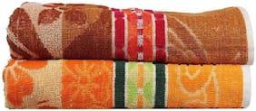 XY DECOR DESIGNER BATH TOWEL ( SET OF 2 ) SIZE 30X60