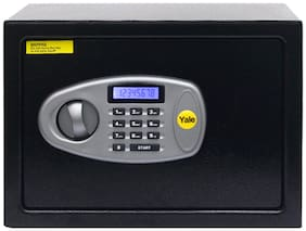 Yale Standard Medium Safe with Pin Code Access- 16.3 L Safe Locker (Digital,Key Lock)