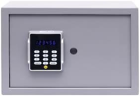 Yale YSPC-250 Cosmos Series Home Safe,Size- Medium,Digital - Pin Access,Color- Grey Safe Locker (Digital,Keypad)