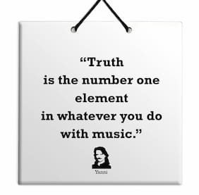 Yanni TILE Plaque Home Wall Decor Birthday Gift Idea Special Offer Famous Quote