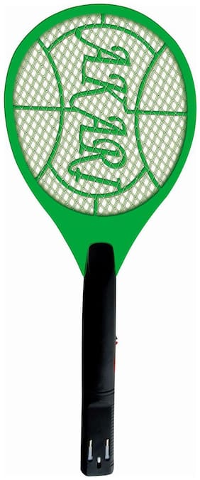 Yauatcha magideal m square Mosquito Racket Bat Assorted Color and Design Pack of 1 (Assorted)