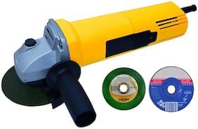 Yellow Angle Grinder (100 mm Wheel Diameter)