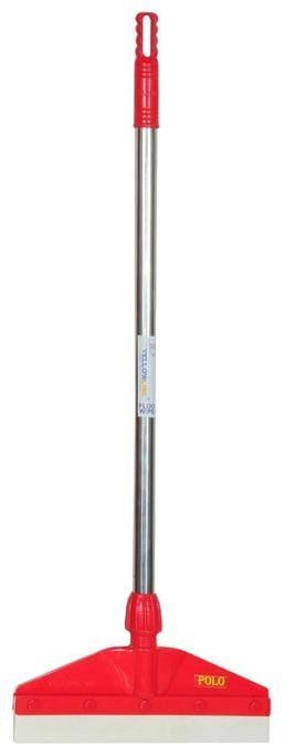 Yellowline EVA Foam Stainless Steel Handle Bathroom Floor Cleaning Wiper | Combo Set (Assorted;Small Size)