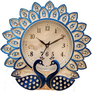 Yes Celebration Plastic Analog Wall clock ( Set of 1 )