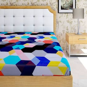 Z Decor Decor Deluxe Polycotton Double Bedsheet with 2 Pillow Cover
