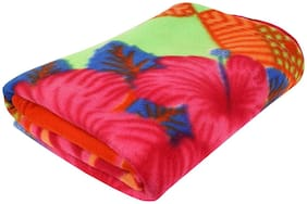 Zacharias Printed Fleece Single Person Blanket Pack of 1