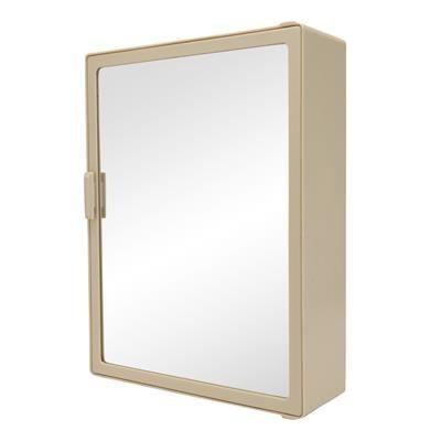 Zahab Powerplay Single Door Plastic Cabinet  Ivory