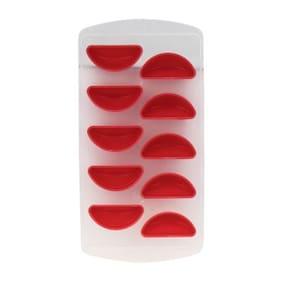 ZEVORA Fruit Shape Ice Tray - Red