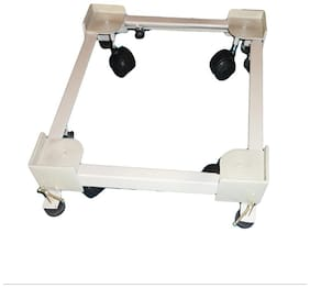Zorse Universal Adjustable Stand  Trolley For Top Loading Washing Maschines With Wheels & Jack