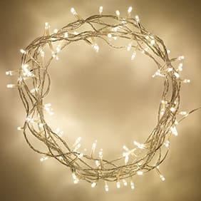 Zulx White Colour Festival Decorative Rice Light 10 m (32 Ft)70 Bulb;Diwali Lights
