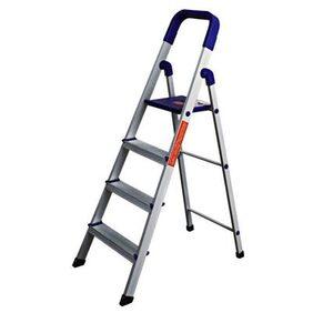 Cipla Plast Folding Aluminium Ladder Home Pro - 4 Step