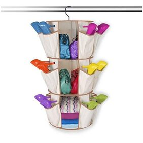 Shopper52 3 Shelf Shoes Organizer