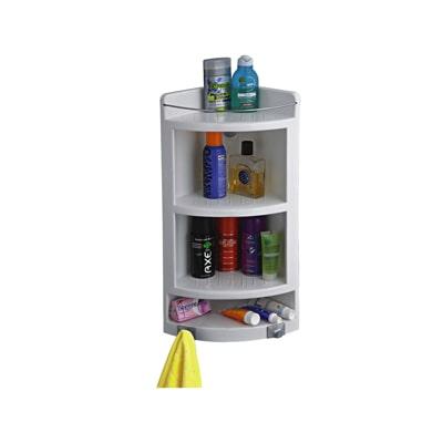 Cipla Plast Extra Large Corner Cabinet White
