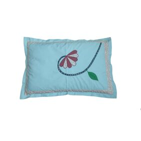 Hugs N Rugs Multicolor Cotton Pillow Cover