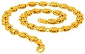 22K Gold Plated Brackets Designer Chain for Men & Boys