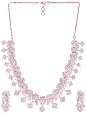 Accessher Necklace Set For Women