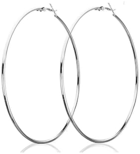 Air sports  90MM  Big Round Hoop Earrings for Woman