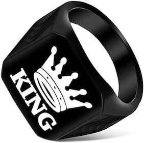 Alanswiss Attractive King Men Ring