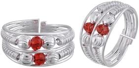 Anklets & Toe Ring Women Memoir Brass Silver