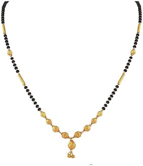 Beads;Brass Multi Colored Antique Mangalsutra