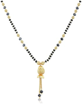 Brass;Beads;Alloy Multi Colored Antique Mangalsutra