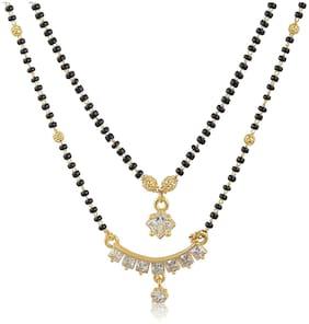 Alloy;Brass Gold Antique Mangalsutra