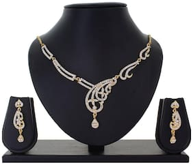 Apara contemporary Austrian Diamond Necklace set