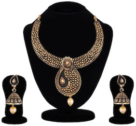 Apara Jaipur Oxidised Trendy Necklace/ Jewellery Set for Women