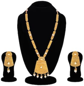 Apara South Long Harama Mala Jewellery Set for Women