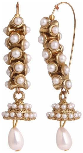 Archi Collection Ethnic Clip-on Earring For Girls And Women