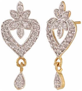 Archi Collection Cz Stud Earring