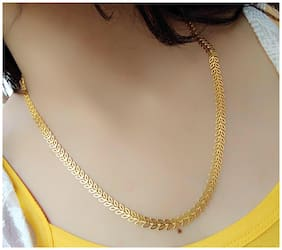 Artificial Alloy Gold Plated Butterfly Long Chain (1Pc)