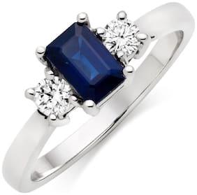 Silver Acrylic Ring