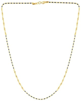 Beadworks  55.88 cm (22 inch) Traditional Mangalsutra Chain Necklace For Women